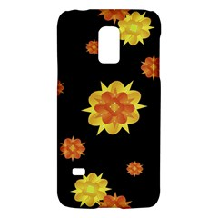 Floral Print Modern Style Pattern  Samsung Galaxy S5 Mini Hardshell Case