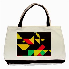Shapes In Retro Colors 2 Classic Tote Bag (two Sides) by LalyLauraFLM