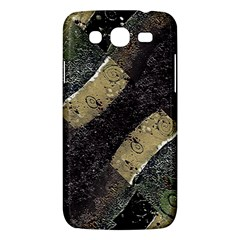 Geometric Abstract Grunge Prints In Cold Tones Samsung Galaxy Mega 5 8 I9152 Hardshell Case