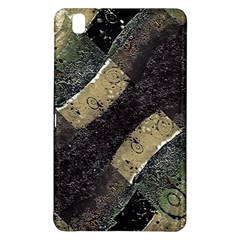 Geometric Abstract Grunge Prints In Cold Tones Samsung Galaxy Tab Pro 8 4 Hardshell Case