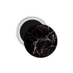Spider Web Print Grunge Dark Texture 1 75  Button Magnet by dflcprints