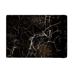 Spider Web Print Grunge Dark Texture Apple Ipad Mini Flip Case by dflcprints