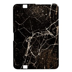 Spider Web Print Grunge Dark Texture Kindle Fire Hd 8 9  Hardshell Case by dflcprints