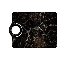 Spider Web Print Grunge Dark Texture Kindle Fire Hd (2013) Flip 360 Case by dflcprints