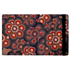 Modern Floral Decorative Pattern Print Apple Ipad 2 Flip Case by dflcprints