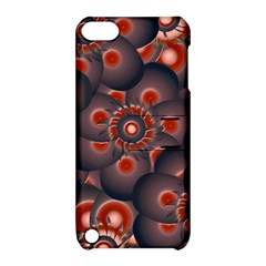 Modern Floral Decorative Pattern Print Apple Ipod Touch 5 Hardshell Case With Stand by dflcprints