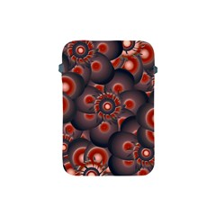 Modern Floral Decorative Pattern Print Apple Ipad Mini Protective Sleeve by dflcprints