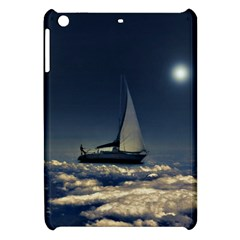 Navigating Trough Clouds Dreamy Collage Photography Apple Ipad Mini Hardshell Case by dflcprints