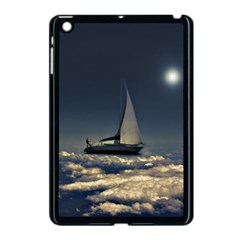 Navigating Trough Clouds Dreamy Collage Photography Apple Ipad Mini Case (black) by dflcprints