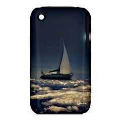 Navigating Trough Clouds Dreamy Collage Photography Apple Iphone 3g/3gs Hardshell Case (pc+silicone) by dflcprints