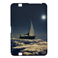 Navigating Trough Clouds Dreamy Collage Photography Kindle Fire Hd 8 9  Hardshell Case by dflcprints
