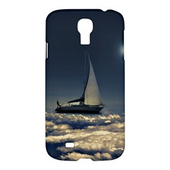Navigating Trough Clouds Dreamy Collage Photography Samsung Galaxy S4 I9500/i9505 Hardshell Case by dflcprints