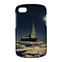 Navigating Trough Clouds Dreamy Collage Photography BlackBerry Q10 Hardshell Case by dflcprints