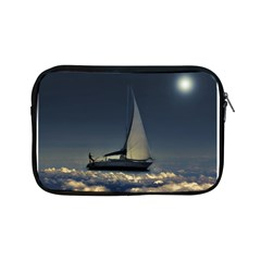 Navigating Trough Clouds Dreamy Collage Photography Apple Ipad Mini Zippered Sleeve by dflcprints