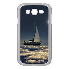 Navigating Trough Clouds Dreamy Collage Photography Samsung Galaxy Grand Duos I9082 Case (white) by dflcprints