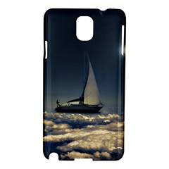 Navigating Trough Clouds Dreamy Collage Photography Samsung Galaxy Note 3 N9005 Hardshell Case by dflcprints