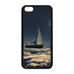 Navigating Trough Clouds Dreamy Collage Photography Apple Iphone 5c Seamless Case (black) by dflcprints