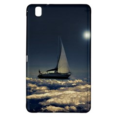 Navigating Trough Clouds Dreamy Collage Photography Samsung Galaxy Tab Pro 8 4 Hardshell Case by dflcprints