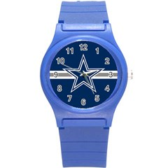 Dallas Cowboys National Football League NFL Teams NFC Round Plastic Sport Watch Small by SportStore