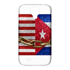United States And Cuba Flags United Design Samsung Galaxy S4 Classic Hardshell Case (pc+silicone) by dflcprints