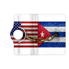 United States And Cuba Flags United Design Kindle Fire Hd (2013) Flip 360 Case by dflcprints