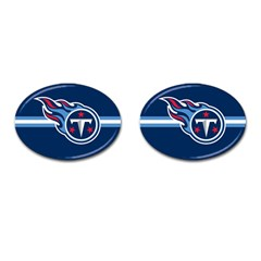 Tennessee Titans National Football League Nfl Teams Afc Cufflinks (oval) by SportMart