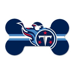 Tennessee Titans National Football League Nfl Teams Afc Dog Tag Bone (two Sided) by SportMart