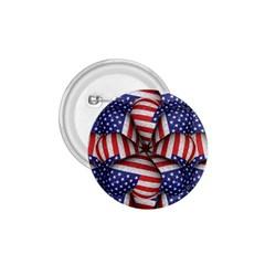 Modern Usa Flag Pattern 1 75  Button by dflcprints