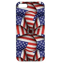 Modern Usa Flag Pattern Apple Iphone 5 Hardshell Case With Stand by dflcprints