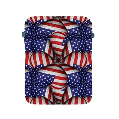 Modern Usa Flag Pattern Apple Ipad Protective Sleeve by dflcprints