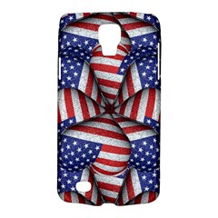 Modern Usa Flag Pattern Samsung Galaxy S4 Active (i9295) Hardshell Case by dflcprints