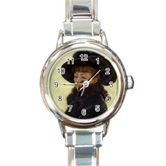 Kathleen Anonymous Ipad Round Italian Charm Watch by AnonMart