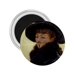 Kathleen Anonymous Ipad 2 25  Button Magnet by AnonMart