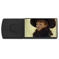 Kathleen Anonymous Ipad 4gb Usb Flash Drive (rectangle) by AnonMart
