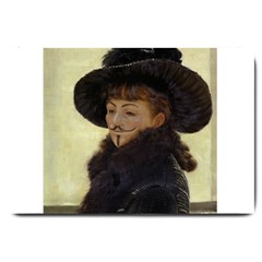 Kathleen Anonymous Ipad Large Door Mat by AnonMart