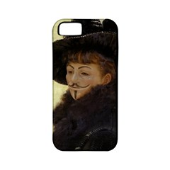 Kathleen Anonymous Ipad Apple Iphone 5 Classic Hardshell Case (pc+silicone) by AnonMart