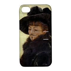 Kathleen Anonymous Ipad Apple Iphone 4/4s Hardshell Case With Stand by AnonMart