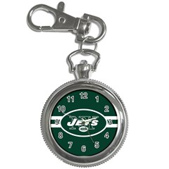 New York Jets National Football League Nfl Teams Afc Key Chain Watch by SportMart