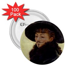 Kathleen Anonymous   James Tissot, 1877 2 25  Button (100 Pack) by AnonMart