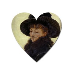 Kathleen Anonymous   James Tissot, 1877 Magnet (heart) by AnonMart
