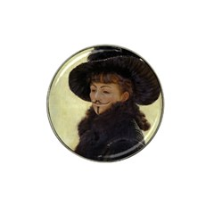 Kathleen Anonymous   James Tissot, 1877 Hat Clip Ball Marker by AnonMart