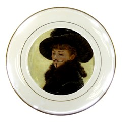 Kathleen Anonymous   James Tissot, 1877 Porcelain Plate by AnonMart