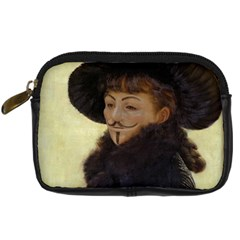Kathleen Anonymous Ipad Digital Camera Leather Case by AnonMart
