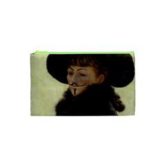 Kathleen Anonymous Ipad Cosmetic Bag (xs) by AnonMart
