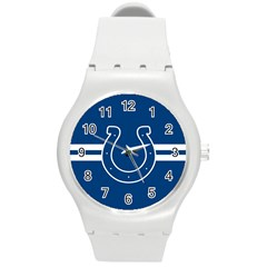 Indianapolis Colts National Football League Nfl Teams Afc Plastic Sport Watch (medium) by SportMart
