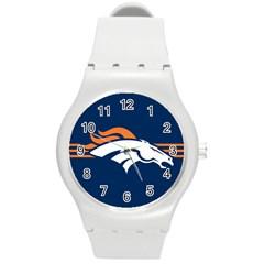 Denver Broncos National Football League Nfl Teams Afc Plastic Sport Watch (medium) by SportMart