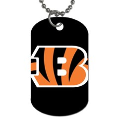 Cincinnati Bengals National Football League Nfl Teams Afc Dog Tag (one Sided) by SportMart