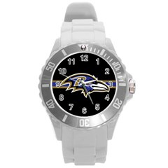 Baltimore Ravens National Football League Nfl Teams Afc Plastic Sport Watch (large) by SportMart