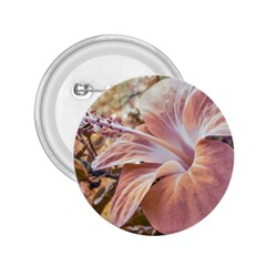 Fantasy Colors Hibiscus Flower Digital Photography 2 25  Button by dflcprints