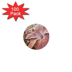 Fantasy Colors Hibiscus Flower Digital Photography 1  Mini Button (100 pack) by dflcprints